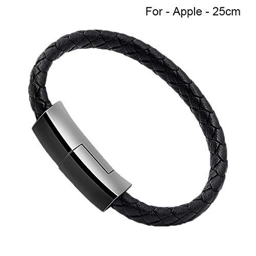 Liamostee 2.4A Armband, das Datenkabel-Linie aufl?dt, die schnell f¨¹r Handy-Sport tragbar ist Dt Handy
