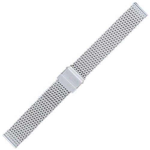Liebeskind Uhrenarmband 16mm Edelstahl Silber Rosé - Uhrband B_LT-0071-MQ