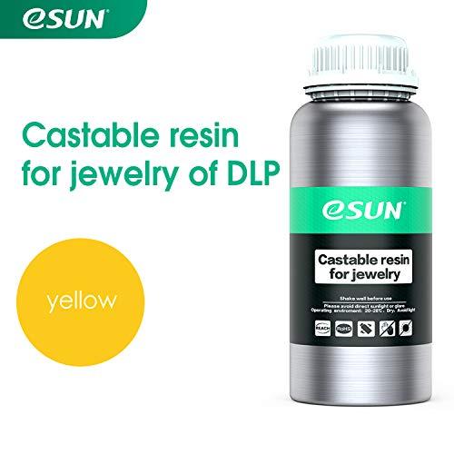 ESUN LCD/DLP 3D Impresora Castable Resina Joyería