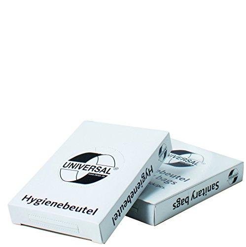 Hygienebeutel Deiss Universal, weiß, 750 Stück
