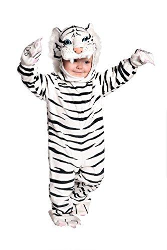 Kost-me f-r alle Gelegenheiten Ur26022Ts Tiger White Pl-sch 6 12 Monate (White Tiger Baby Kostüm)