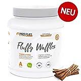 FLUFFY WAFFLES | Backmischung für leckere Protein-Waffeln mit Mandelprotein | OHNE Weizenmehl | Ballaststoffreich | 600g - SWEET CINNAMON (Zimt & Zucker)