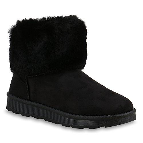Botas Quente Deslizamento De Alinhados Preto Total Femininos Sapatos xw7a07