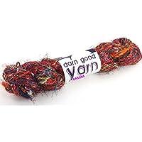 Kaleidoscope Banana Fiber Yarn - Worsted Weight, 100 g/50 yards by Darn Good Yarn