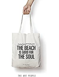 Soul Tote Bag Reusable Grocery Bag Machine Washable Canvas Shopping Bags With Long Handy Straps – Eco Friendly...
