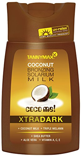 Tannymaxx Xtra Dark Coconut Bronzing Milk, 1er Pack (1 x 200 ml)