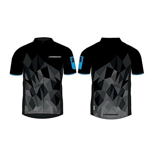Preisvergleich Produktbild Haibike Multifunktionsshirt Kurzarm Man Gr. M schwarz / blau made by Maloja,  schwarz (1 Stück)