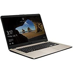 """Asus VivoBook S A505ZA-BR374T Monitor 15.6"""" HD, AMD Ryzen R5-2500U, RAM 8 GB, SSD da 256 GB, Oro"""