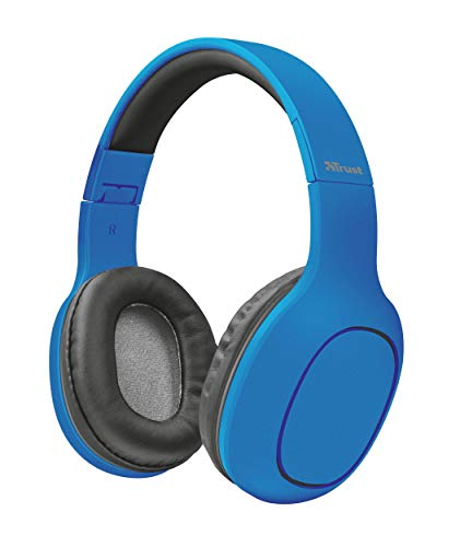 Trust Urban Dona Cuffie wireless Bluetooth - Blu