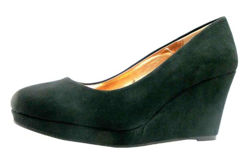 Size 6 Timeless Women's Nev Faux Suede Court Shoes