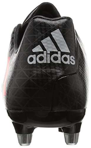 adidas Malice Sg, Chaussures de Rugby Homme Noir (Negbas/rojimp/grpudg)