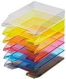 Briefablage glasklar, 5 Stück