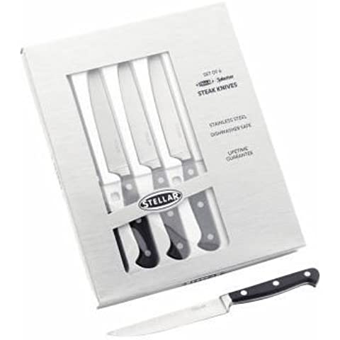 Stellar Sabatier - Cuchillos para carne (6 unidades)