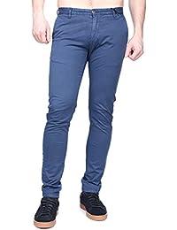 Kenzarro - Jeans Kd67003 Chino Blue