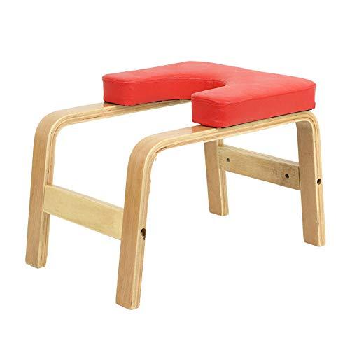 Q&Z Banco De InversióN De Yoga,Multifuncional Yoga Headstand Prop Feetup Head-Stand Taburete Entrenador...