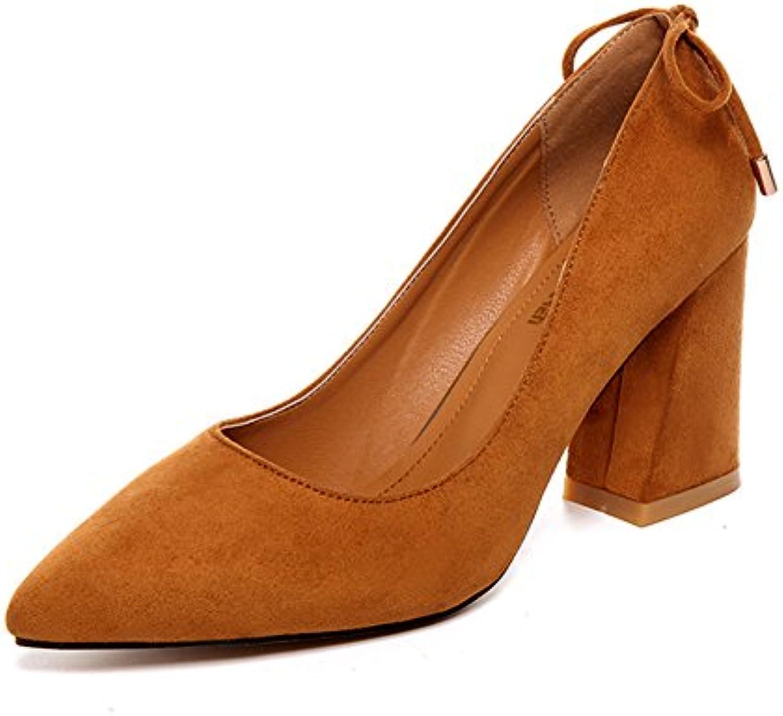 Señora,La Primavera,Rugoso Con,Zapatos Nude Señaló,Asakuchi,Zapatos Cuadrados
