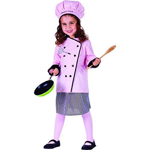 Dress Up America Size 2 Master Girl Chef Costume by Dress Up America - Master 2 Master Chef