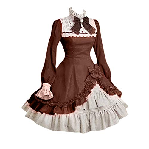 Damen Umhang T-Shirt Retro Oberteil Vintage Drucken Gothic Steampunk Top Karneval Party...