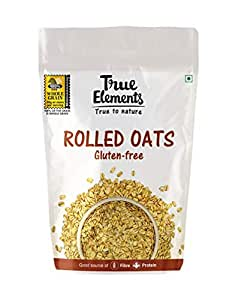 True Elements Gluten Free Rolled Oats, 1kg