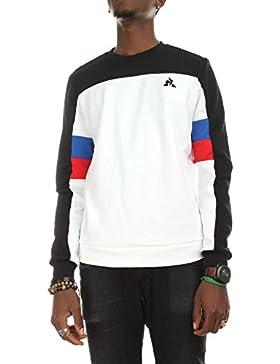 Le Coq Sportif 1810683 Felpe Uomo Bianco L