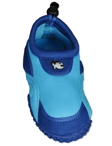 iQ-Company Kinder Aqua Schuhe Shoe Kids Fun Fish Dark-Blue