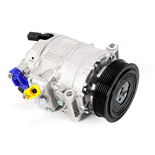 YUNRUX Klimakompressor Klimaanlage Innenraumheizung Motorkompressoren Auto Ersatz Klimaanlage verdichter Kompressor für Audi A1 A3 TT VW Golf Skoda SEAT TDI TFSI FSI TSI