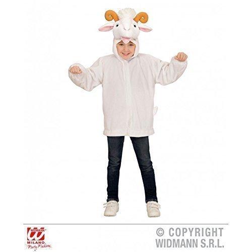 Imagen de lindo chaqueta / disfraz infantil con cabeza de cabra  capucha para niños chaqueta talla 113cm / 3 5 años