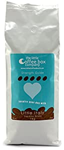 Little Italy Espresso Coffee Beans 1kg - 100% Premium Italian Strong Blend