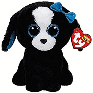 Ty- Peluche, Juguete, Color Negro, 23 cm (United Labels Ibérica 37076TY)