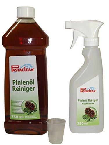Pastaclean Pinienöl Reiniger 0,75 Liter Gel Konzentrat + Mischflasche