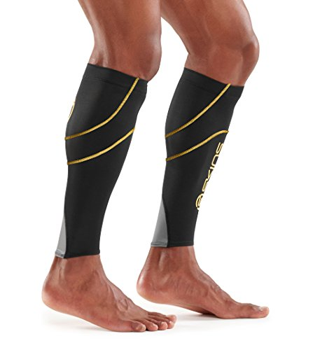 Skins Essentials Calf mallas MX, Black/Yellow, XS, ES00040879052XS