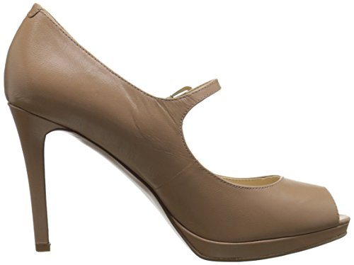 Nine West Emergencee Cuir Talons Taupe