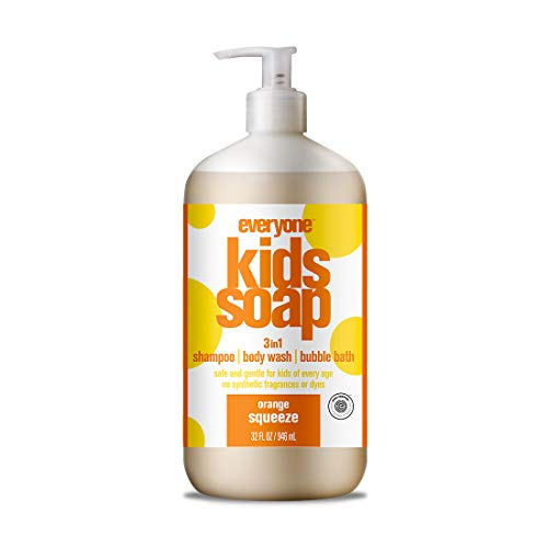 Everyone Soap for Every Kid, Orange Squeeze, 32 Ounce
