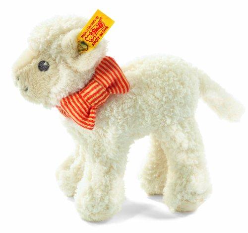 Steiff 240058 - Linda Baby Lamm, 15 cm, creme