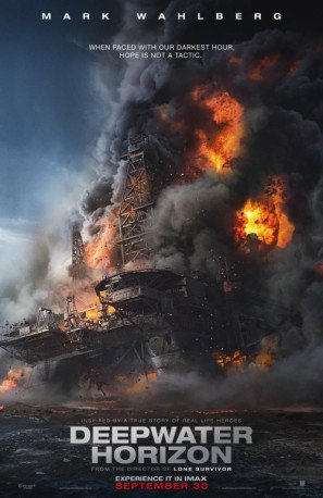 DEEPWATER HORIZON – US Imported Movie Wall Poster Print - 30CM X 43CM Brand New