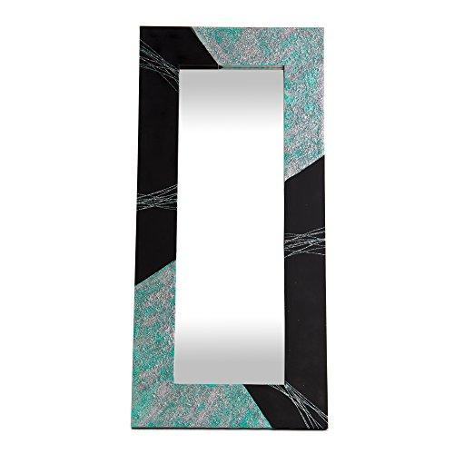 Lohoart L-1189-1 - Espejo Sobre Lienzo Pintado Artesanal
