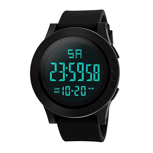 Bestow Los Hombres de Moda LED Impermeable Digital HONHX Reloj ElectršNico Relojes de Cuarzo Militar...