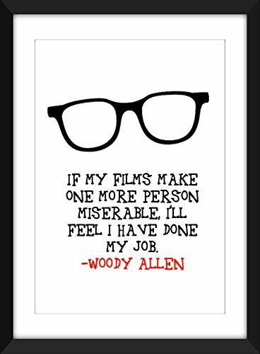 woody-allen-miserable-quote-a3-a4-a5-5-x7-8-x-10-print-regalo-per-film-lovers
