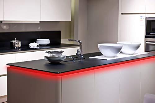 Nino RGB-LED-Flexband 100cm mit Fernbedienung und Farbwechsel 30-flammig (63943017)
