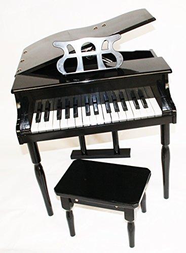 Kinder Klavier Piano Flügel Kinderklavier + Hocker BK
