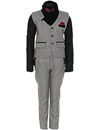 AJ DEZINES Khaadi Kid's Party Wear Suit Set