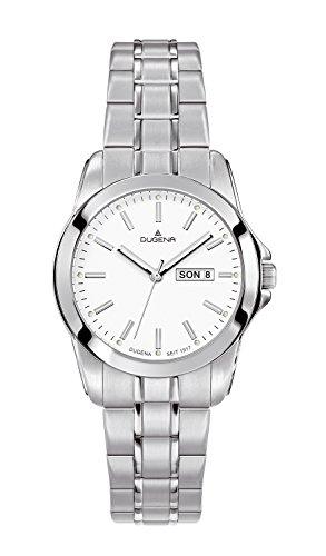 Dugena - 4460564 - Montre Femme - Quartz - Analogique - Bracelet Acier inoxydable Argent