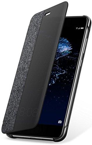 Huawei P10 Lite Custodia Flip, Grigio Chiaro