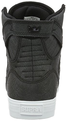 Supra Skytop, Baskets Basses Homme Noir - Schwarz (BLACK FIBREGLASS - WHITE 036)