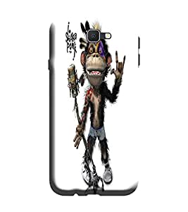 Samsung Galaxy A3-6 (2016 Edition) Back Cover designer 3D Hard Mobile Case printed Cover for Samsung a3 2016 edition by Gismo - Funny Monkey Theme