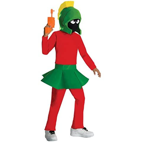 Looney Tunes Marvin the Martian Halloween Costume - Child Size Medium, Medium, As Shown