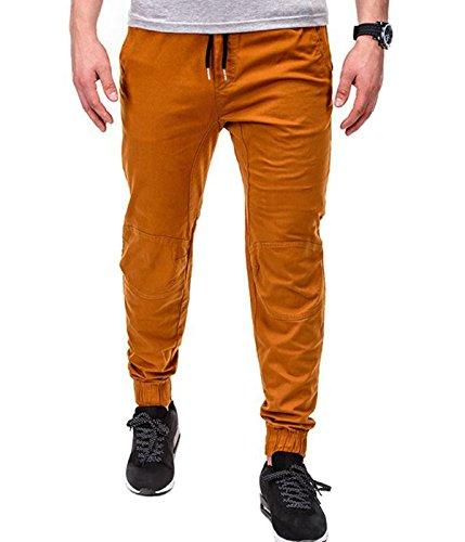 BetterStylz - Pantalon - Homme multicolore Mehrfarbig Camel