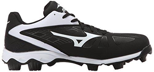 Mizuno da uomo 9Spike ADV Franchise 8BK baseball Cleat Black / White