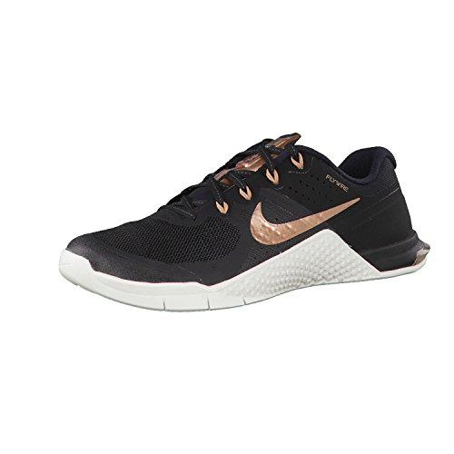 Nike Damen 821913-004 Turnschuhe Schwarz