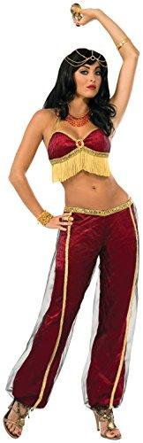 Forum Novelties 74984Standard Größe Rubin Tänzerin Kostüm passen Frauen mit einem 34bis 96,5cm Brustumfang und 26bis 32Taille